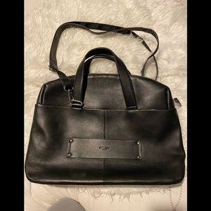 Delsey Paris genuine leather business/work bag
